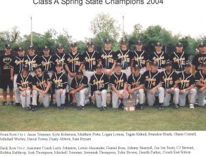 2004 Spring State Champs