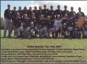 2007 Fall State Runner Up