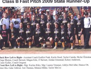 2009 Fast Pitch State Runner Up
