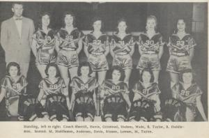 1962 Boys Basketball Team