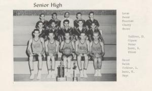1958 Girls Basketball Team
