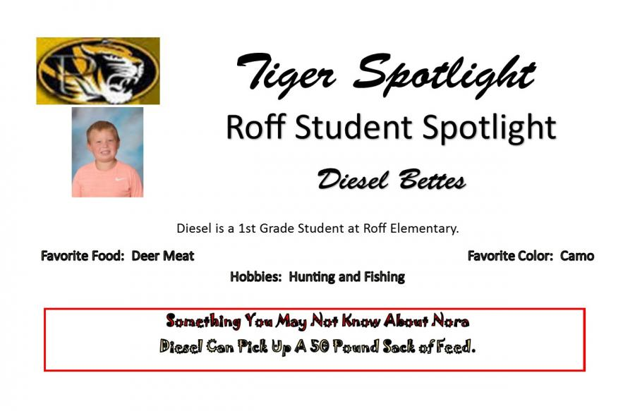 Diesel Bettes Student Spotlight
