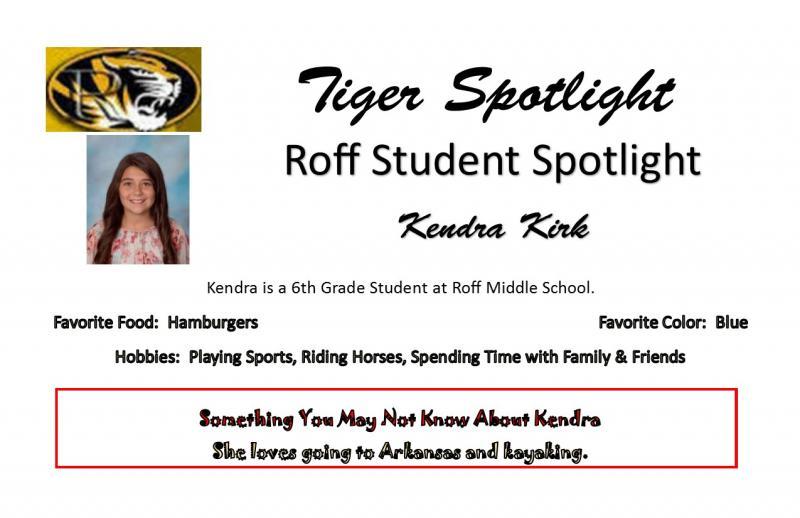 Kendra Kirk Spotlight