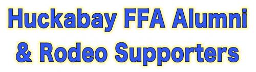 Huckabay FFA Alumni and Rodeo Supporters