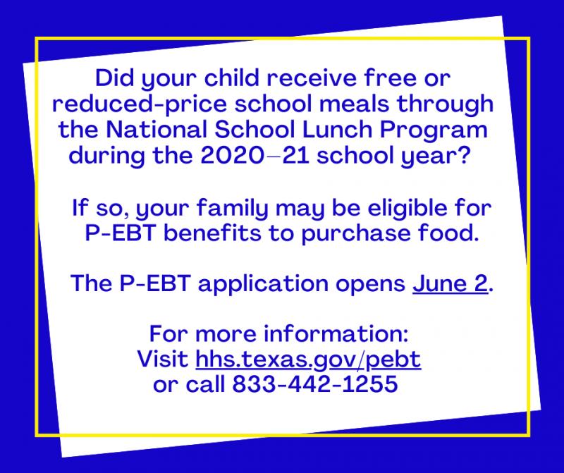 P-EBT Benefits
