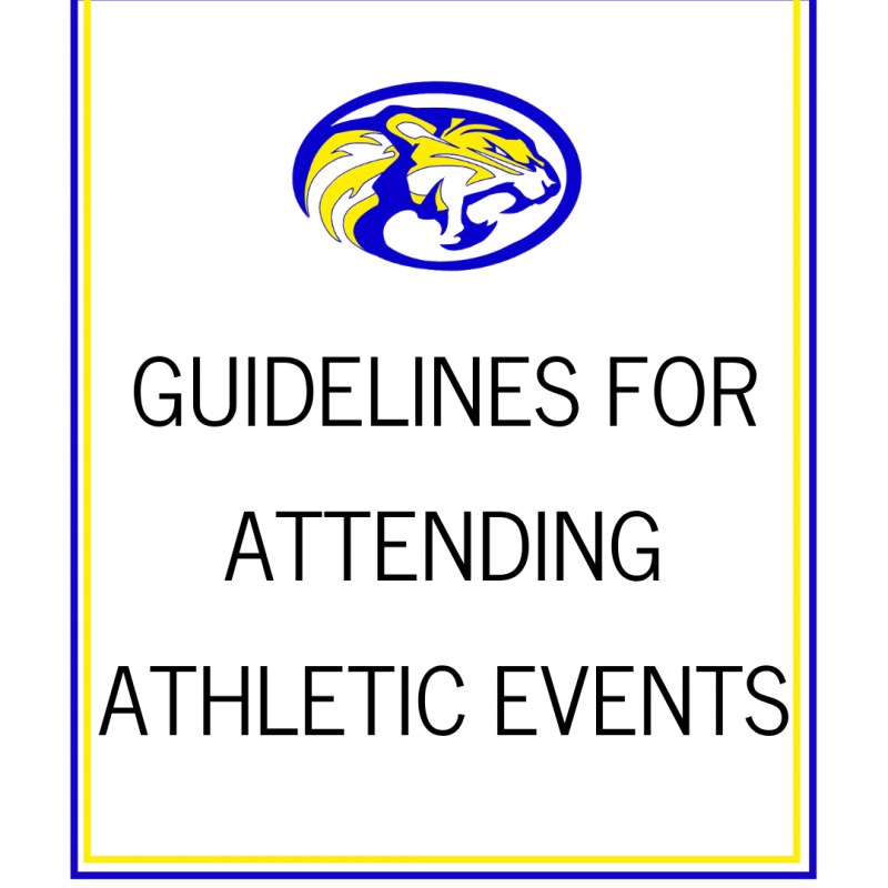 Guidelines for Attending Athletic Events