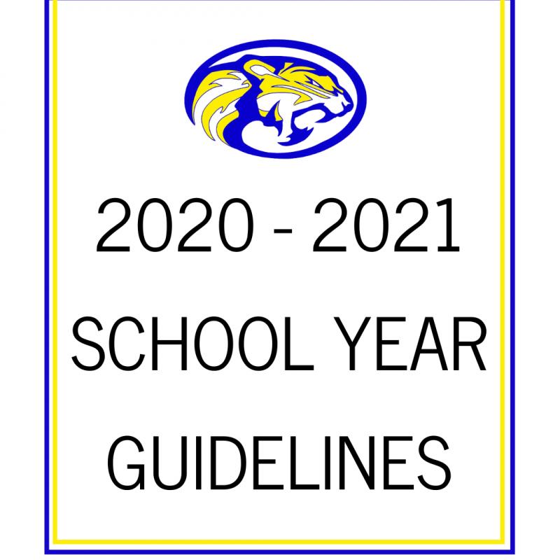 20-21 School Year Guidelines