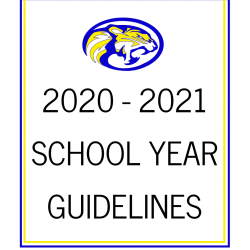20-21 School Year Guidelines