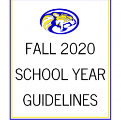 Fall 2020 School Year Guidelines