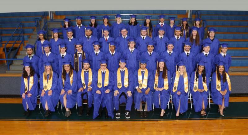 Bland High School Graduation