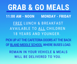 Grab & Go Meals Available
