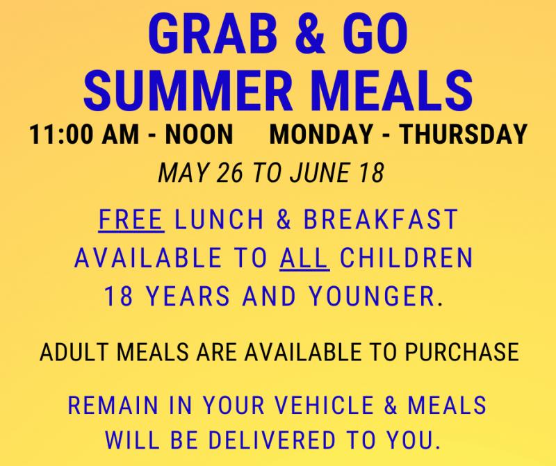 Grab & Go Summer Meals