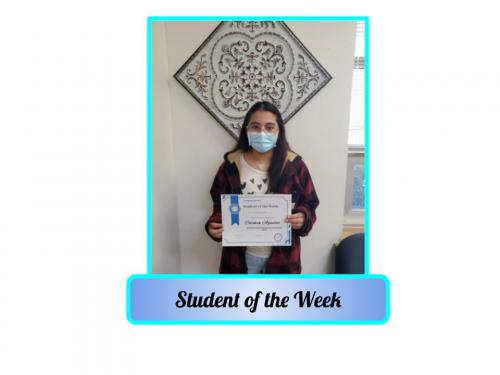 Student of the week 18
