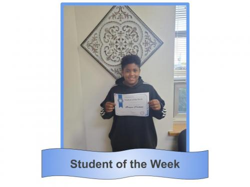 Student of the Week 10