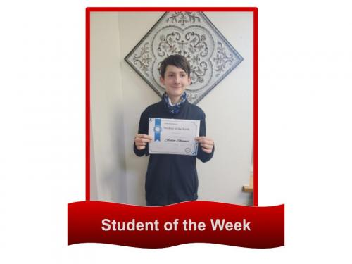 Student of the week 9
