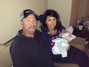 Our first grand baby!