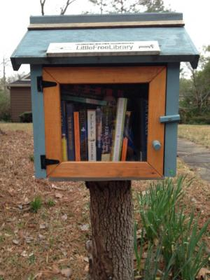 Library Mailbox!