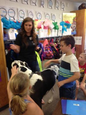 Bring your dog to school day! Stephanie!