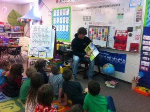 Reader's Day during Dr Seuss Week