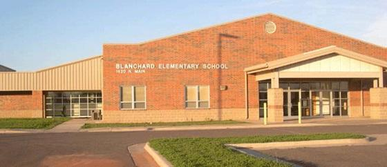 Landscape View facing Blanchard Elementary School