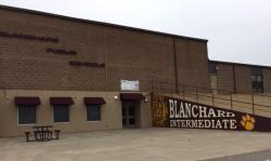 Landscape View facing Blanchard Intermediate School