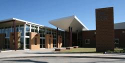 Landscape View facing Blanchard High School