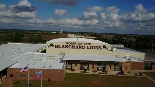 Blanchard High School Building