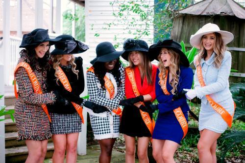 Homecoming Court Ladies