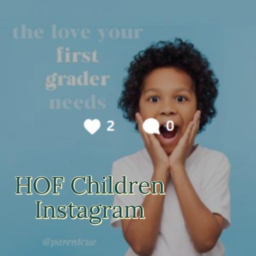 HOF Children Instagram Logo