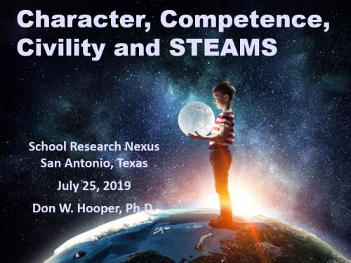 Character Competence Civility and STEAMS