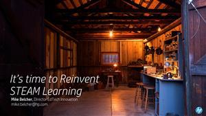 It's time to reinvent steam learning