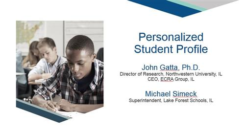 personalized student profile