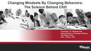 changing mindsets by changing behaviors