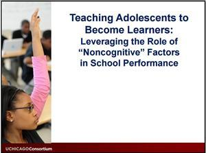 teaching adolescents to become learners