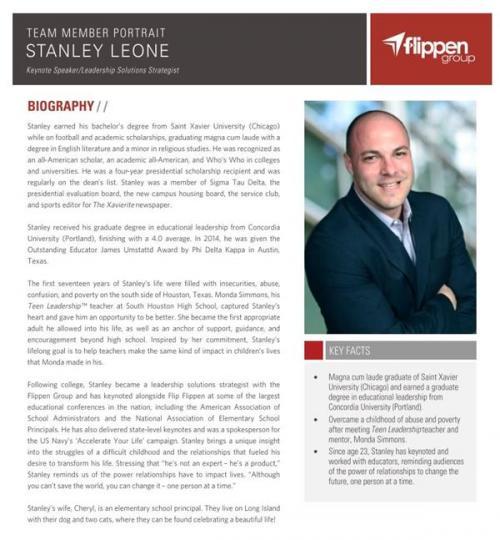 Stanley leone biography