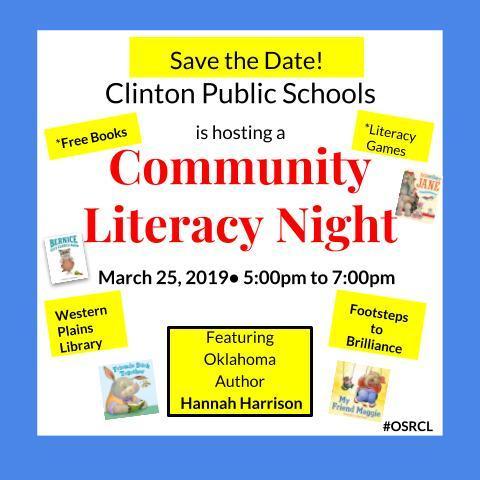 Local Literacy Night