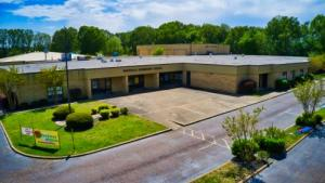 Overhead picture of Whiteville Elementary School.