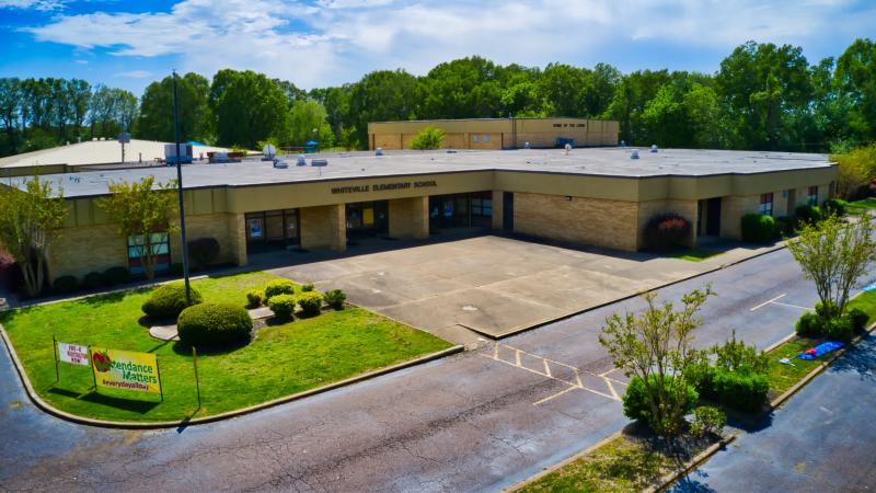 Landscape View facing Whiteville Elementary School