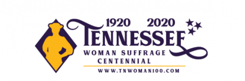 Logo for Tennessee Woman Suffrage Centennial
