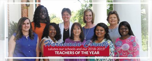 2018-2019 Teachers of the Year