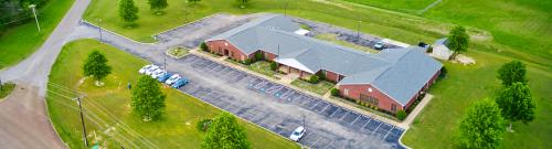 Overhead picture of Hardeman County Schools Board of Educaton building
