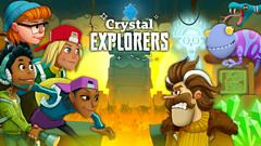 Crystal Explorers game logo cartoon characters