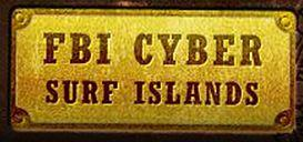 fbi cyber surf islands logo