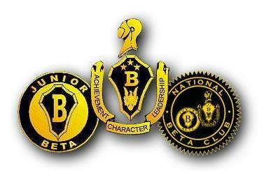 beta club shields