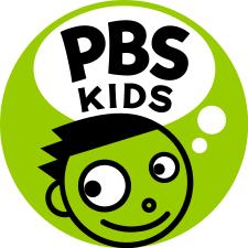 pbs kids logo green circle with face