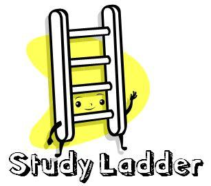 cartoon ladder walking