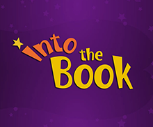 into the book logo