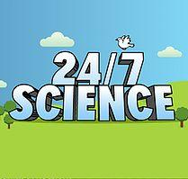 24/7 science logo