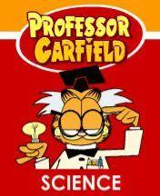 garfield the cat dressed as a professor