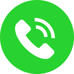 green circle with white phone icon